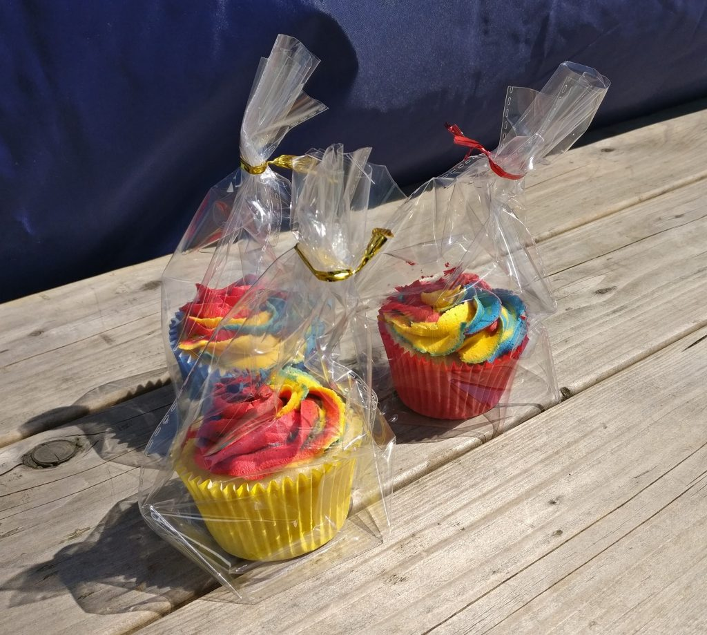 Oxonian cup cakes